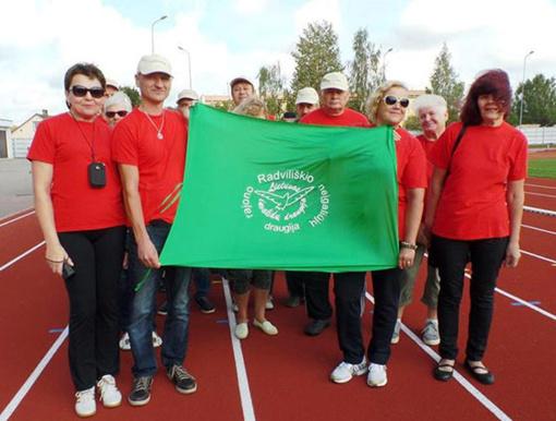Radviliškio neįgaliųjų pergalės Bauskės sporto šventėje