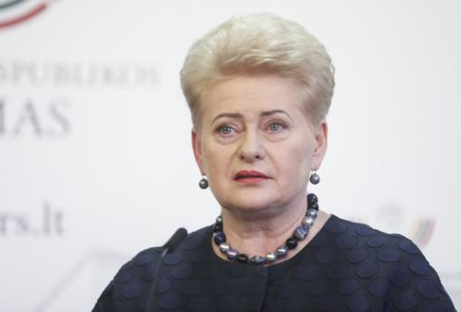 Prezidentė tikina nesileisianti įbauginama Seimo komisijų