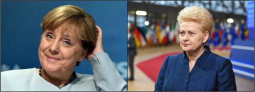 D. Grybauskaitei - paskutinis vokiškas reveransas