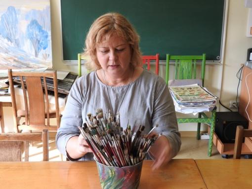 Bibliotekos projektas kviečia piešti ir tapyti mūsų krašto dvarus