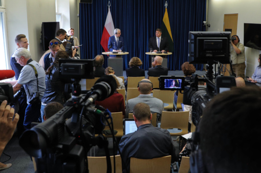 Lenkijos užsienio reikalų ministras: džiaugiamės atnaujintu dialogu dėl Lietuvos lenkų