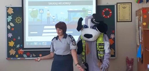 Saugaus eismo pamokėlės – Trakų rajono ugdymo įstaigose