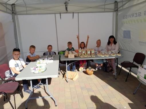 Vaikų ir jaunimo verslo mugė Bauskėje