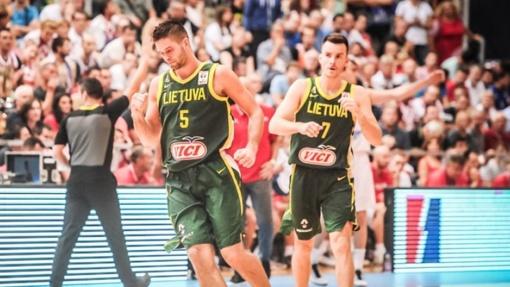 Pasaulio čempionato atrankoje Lietuvos rinktinė įveikė Kroatiją