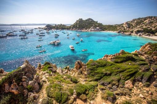 Rudens nebijantis rojaus kampelis Italijoje – laukinė Sardinija