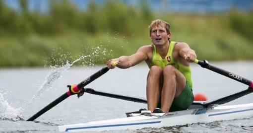 Irkluotojui M. Griškoniui - pasaulio čempionato bronza