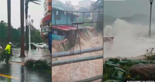 59 filipiniečių gyvybes nusinešęs taifūnas užgriuvo Pietų Kiniją (vaizdo įrašas)