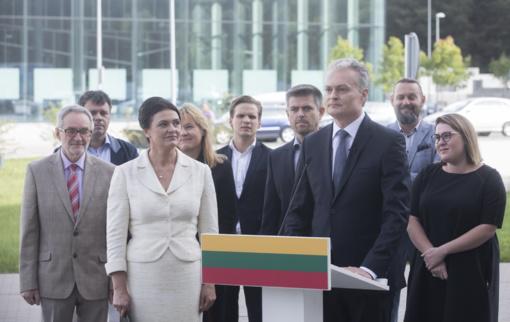 G. Nausėda apsisprendė – sieks prezidento posto