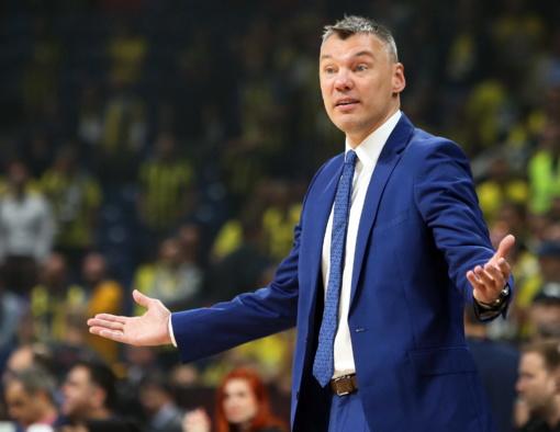 Š. Jasikevičius: svarbiausia, kad ne tik laimėjome, bet ir minimaliai pasistūmėjome į priekį