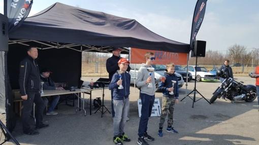 H2AUTO greituminio slalomo dvikovų čempionatas