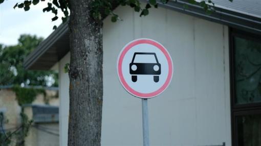 Panerių gatvėje bus uždaromas eismas