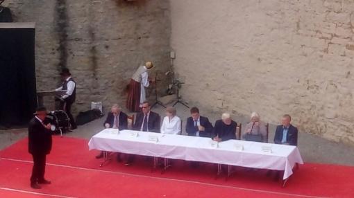 Dalyvauta Baltijos šalių nepriklausomybės atkūrimo 100 metų sukakties minėjime