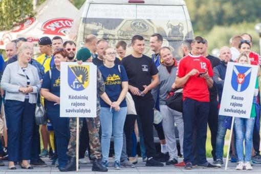 11-osiose Lietuvos seniūnijų sporto žaidynėse Kėdainių rajono savivaldybė trečia