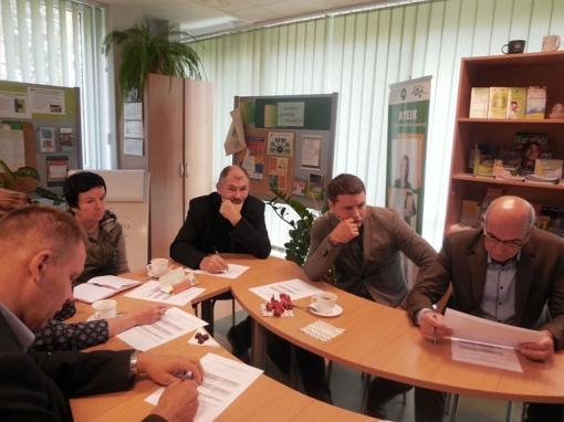 Jaunimo garantijų iniciatyvos įgyvendinimo komisijos posėdis Visagine