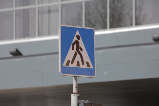 Vilniuje partrenkta per pėsčiųjų perėją ėjusi moteris