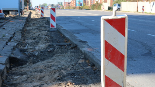 Šiaulių gatvėse – intensyvūs remonto darbai (vaizdo įrašas)