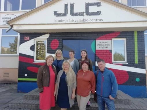 Ukmergėje susitiko Jaunimo centrų atstovai