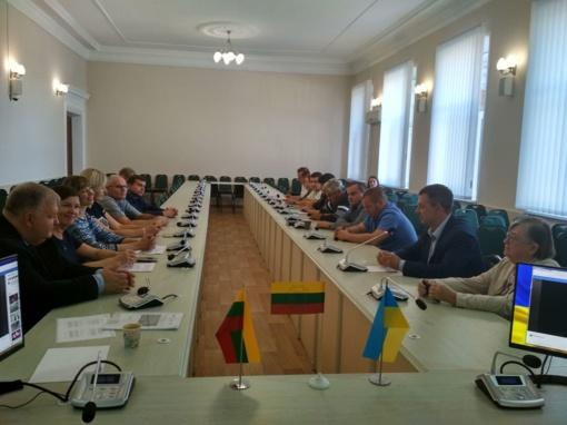 Mirgorode (Ukrainoje) pristatoma Anykščių rajono savivaldybės patirtis bei gerieji pavyzdžiai