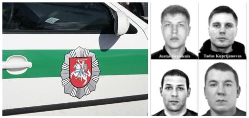 Policijos pareigūnai prašo visuomenės pagalbos ieškant besislapstančių asmenų