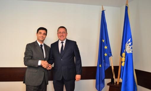 Savivaldybėje lankėsi Prancūzijos ambasadorius Lietuvoje Philippe Jeantaud