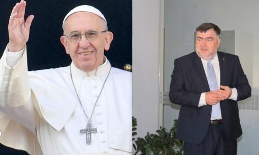 Lazdijų meras susitiks su Popiežiumi Pranciškumi