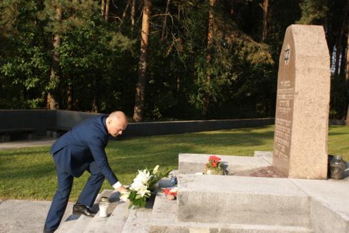 Pagerbtas aukų atminimas