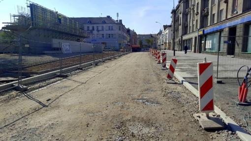 Šiaulių mieste – eismo pokytis