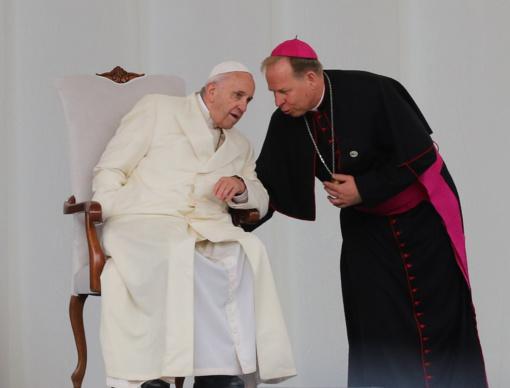 Popiežius Pranciškus jaunimui: pasipriešinkime individualizmui