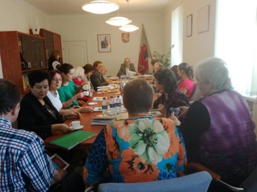 Koordinacinės tarybos posėdis Šakiuose
