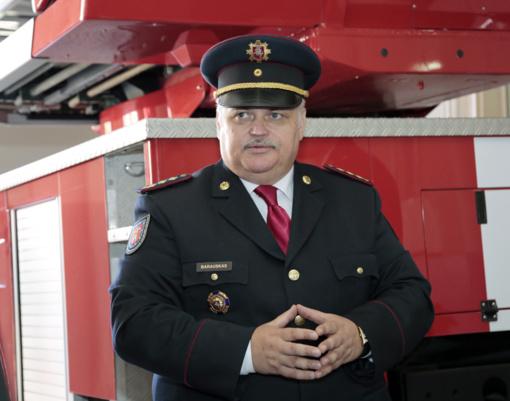Iš Marijampolės – į Kauną  (Marijampolės ugniagesių vadovas tęsia tarnybą Kaune