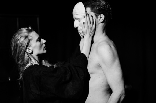 "Legendinio Marguerite Duras kūrinio ""Hiroshima, mon amour"" pastatymas teatro scenoje"