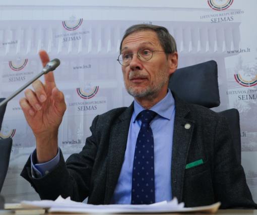 Prof. L. Mažylis sieks europarlamentaro mandato TS-LKD sąraše