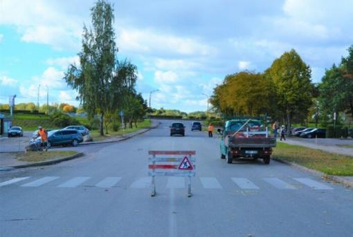 Pradedami Nemuno gatvės rekonstrukcijos darbai