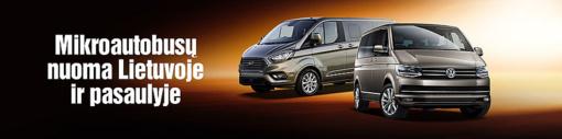 Sixt mikroautobusų nuoma pateisins net ir išrankiausių klientų lūkesčius
