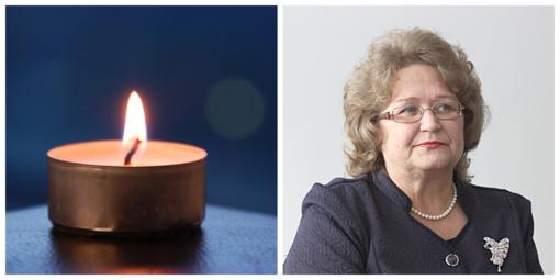 Mirė Mažeikių rajono savivaldybės tarybos narė ir visuomenės veikėja  Laimutė Kačerauskienė