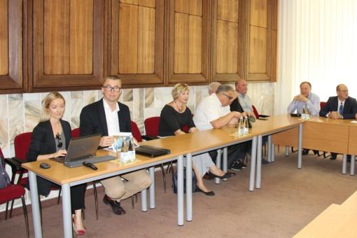 Ieškoma būdų tobulinti VšĮ Druskininkų ligoninės veiklos galimybes