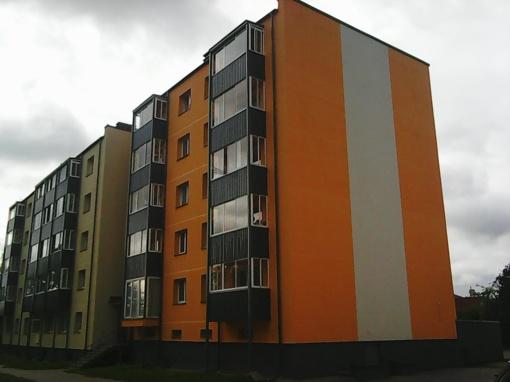 Vilniaus g. 79 daugiabutis oficialiai baigtas statyti