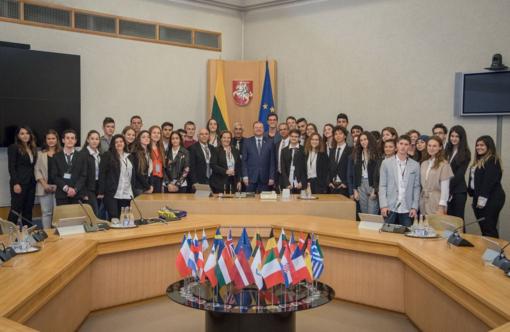 Izraelio moksleiviai pradeda savaitės trukmės vizitą Lietuvoje