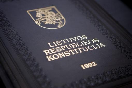 Spalio-4-ąją bus laikomas Konstitucijos egzaminas