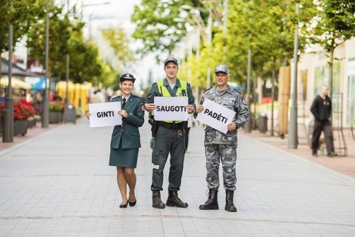 Lietuvos policijai – 100 metų!
