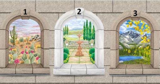 Išsirinkite langą ir sužinokite, kas jums svarbiausia gyvenime