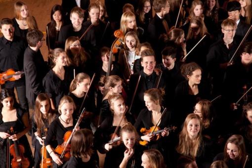 Mažeikiuose – Vokietijos jaunimo simfoninio orkestro koncertas