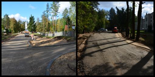 Pradėti Rudnios kaimo Pušyno gatvės įrengimo darbai