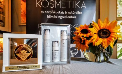 """Vaistininkų gaminamai kosmetikai """"Razalija"""" – dar vienas aukso medalis"""
