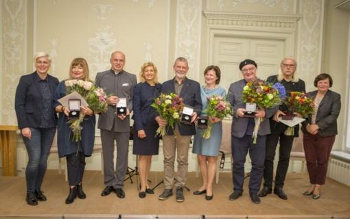 A.Aleksandravičiui - Kultūros ministerijos apdovanojimas