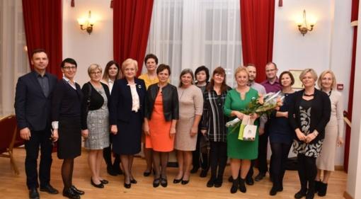 Puikių emocijų kupina Tarptautinės mokytojų dienos šventė Birštone