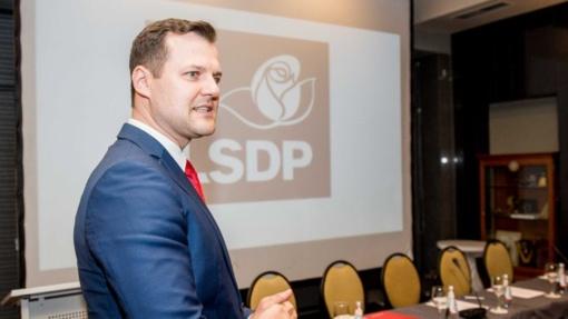 LSDP kandidatas į Vilniaus merus - G. Paluckas