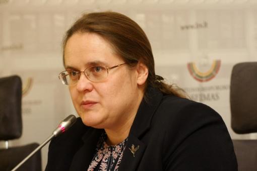 A. Širinskienė siūlo keisti Statuto nuostatas dėl įstatymų projektų ekspertinio vertinimo