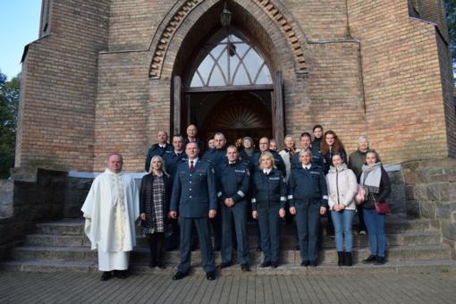 Birštono policijos komisariate šurmuliavo gausus lankytojų būrys