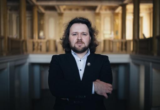 Ilgai lauktas pianisto Gintaro Januševičiaus rečitalis Biržuose